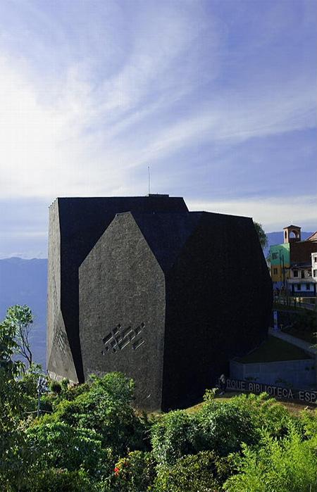 Parque España Library in Colombia 15