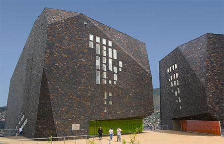 Parque España Library in Colombia 5