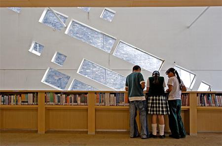 Parque España Library in Colombia 10