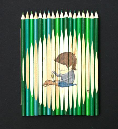Unique Pencil Art by Ghostpatrol 16