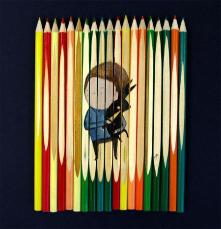 Unique Pencil Art by Ghostpatrol 4
