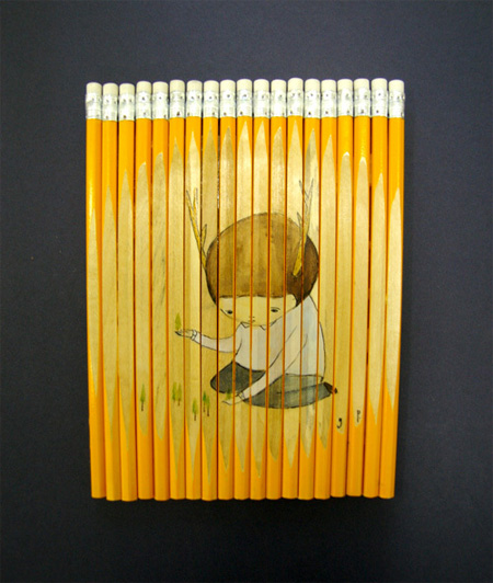 Unique Pencil Art by Ghostpatrol 5