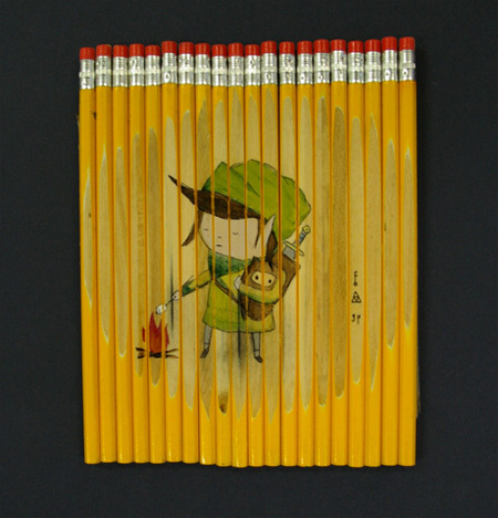 Unique Pencil Art by Ghostpatrol 6