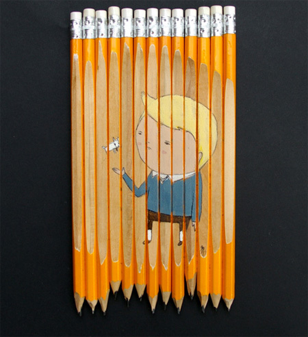 Unique Pencil Art by Ghostpatrol 9