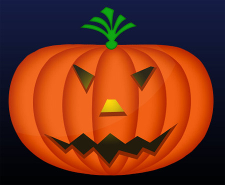 Halloween Pumpkin Photoshop Tutorial