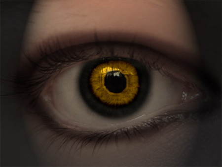 Devils Eye Photoshop Tutorial