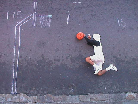 He Got Game by Robin Rhode