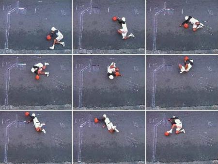 He Got Game by Robin Rhode 2