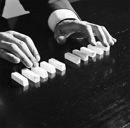 Keys by Robin Rhode