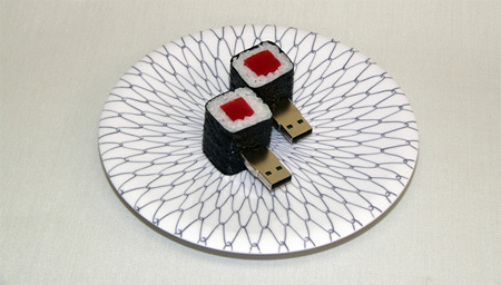 Realistic Sushi USB Flash Drives 10