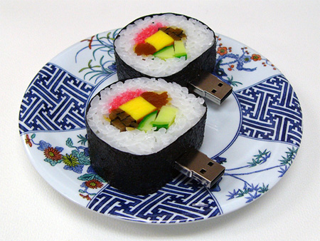 Realistic Sushi USB Flash Drives 2