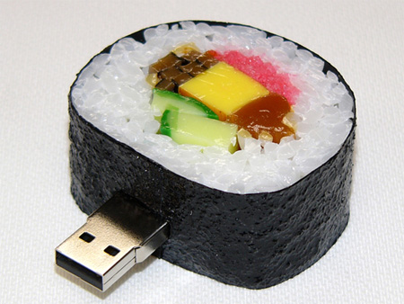 Realistic Sushi USB Flash Drives 3