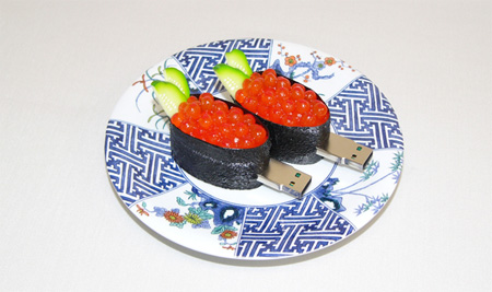 Realistic Sushi USB Flash Drives 4