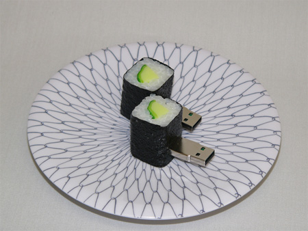 Realistic Sushi USB Flash Drives 5