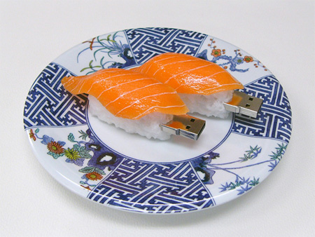Realistic Sushi USB Flash Drives 7