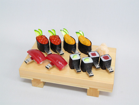 Realistic Sushi USB Flash Drives 9