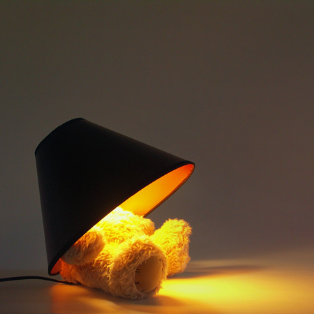 Teddy Bear Lamp by Matthew Kinealy 3