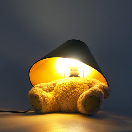 Teddy Bear Lamp by Matthew Kinealy 7
