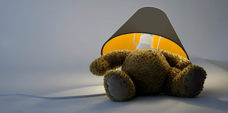 Marvelous Designed By Matthew Kinealy, This Teddy Bear With A Lamp For A Head Will  Surely Surprise Your Guests.
