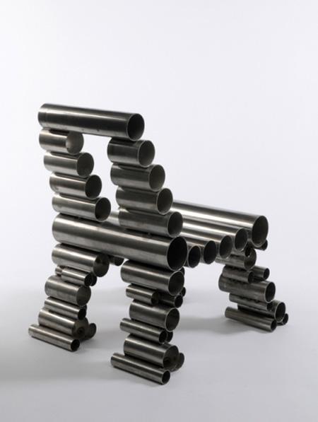 Tube Chair by Osian Batyka-Williams 2
