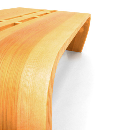 Twist Bench by Christopher Pett 3