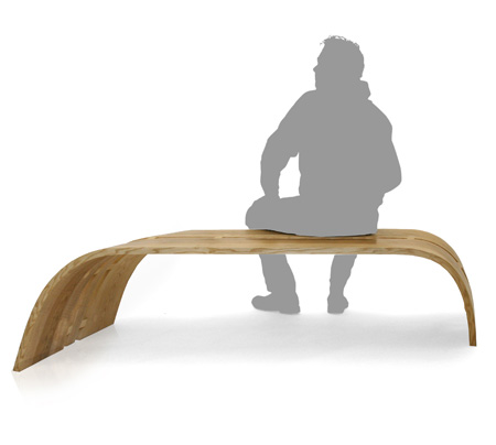 Twist Bench by Christopher Pett 4