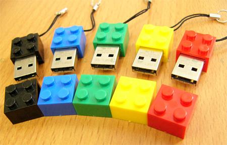 LEGO Brick USB Flash Drive 2