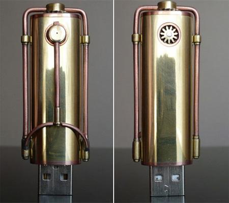 Steampunk USB Flash Drive 2