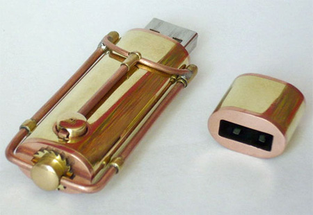 Steampunk USB Flash Drive 3