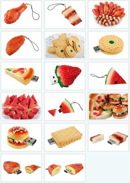 Food USB Flash Drives
