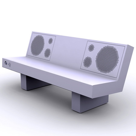 Boombench Plays Music via Bluetooth 4
