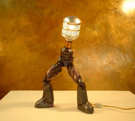 Posable Robot Lamp