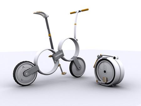 One Folding Bicycle