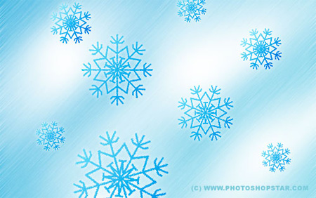 Snowflakes Photoshop Tutorial