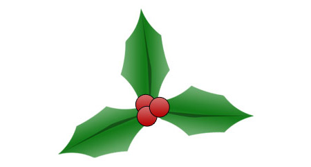 Christmas Holly Photoshop Tutorial