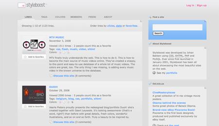 CSS Design Showcase Websites 10