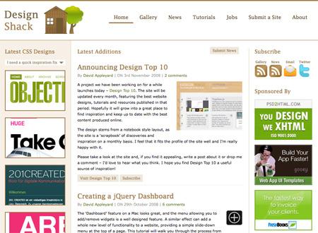 CSS Design Showcase Websites 15