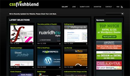 CSS Design Showcase Websites 21