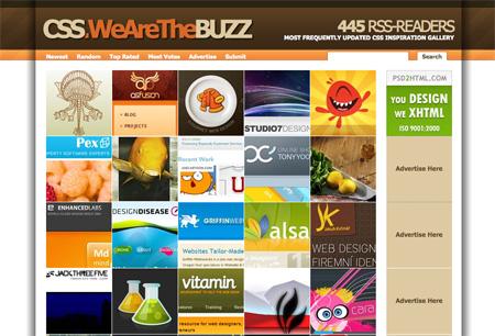 CSS Design Showcase Websites 22