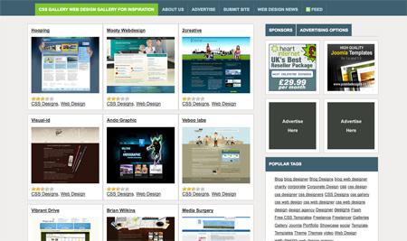 CSS Design Showcase Websites 23