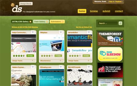 CSS Design Showcase Websites 24