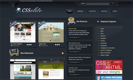 CSS Design Showcase Websites 03