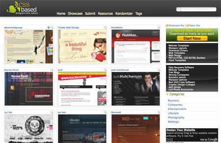 CSS Design Showcase Websites 04