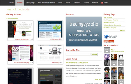 CSS Design Showcase Websites 08