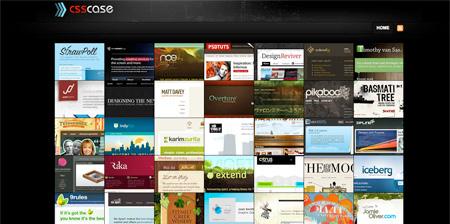 24 CSS Design Showcase Websites