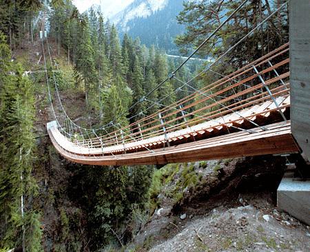 Suspended Staircase Bridge