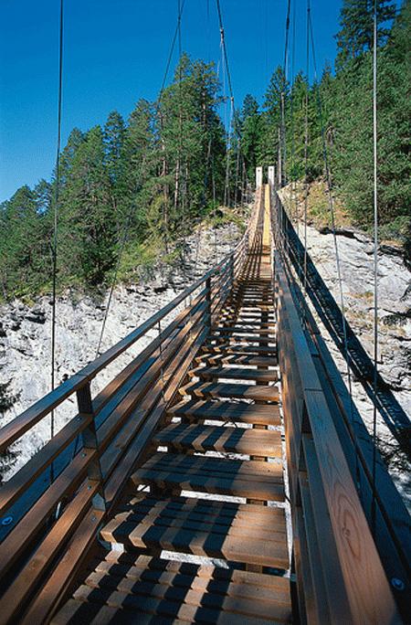 Suspended Staircase Bridge 2