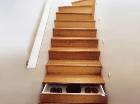 Stairway Drawers