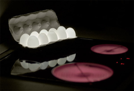 Creative Egg Light by Igor Pinigin