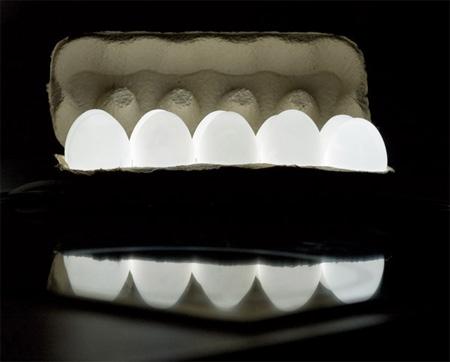 Creative Egg Light by Igor Pinigin 2